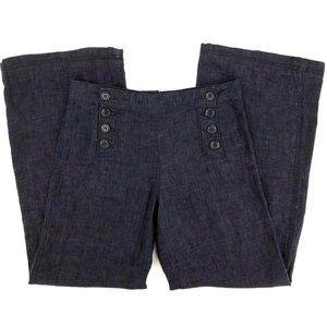 Sophie Max 100% Linen High Waist Wide Leg Pant 2